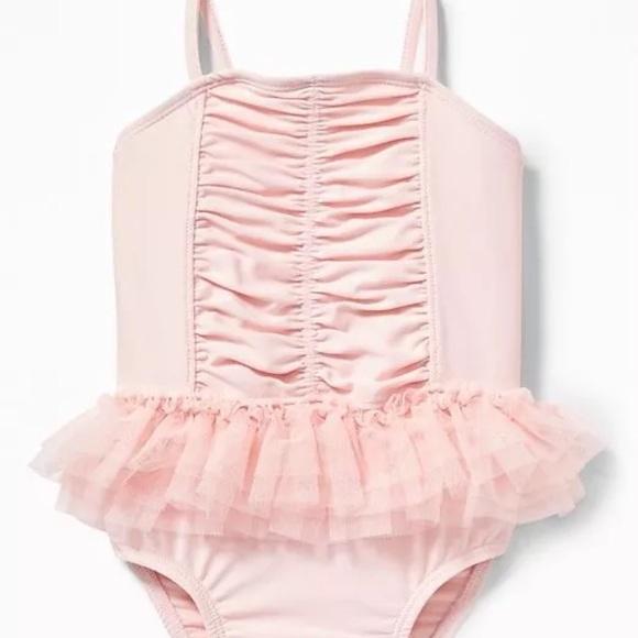 1edf9857f2 Old Navy Swim | Infant Girls Onepiece Suit Ballerina | Poshmark